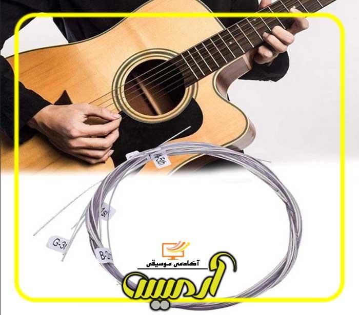 نکاتی در مورد انتخاب سیم گیتار