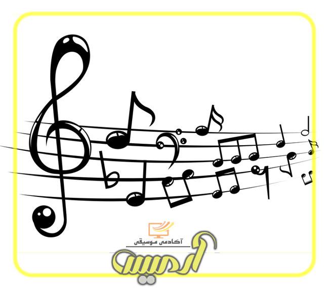 خطوط حامل در موسیقی