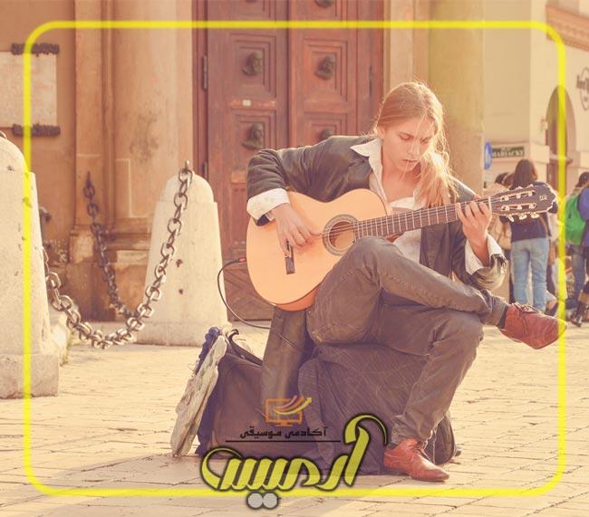 تمرینات دست چپ و راست گیتار